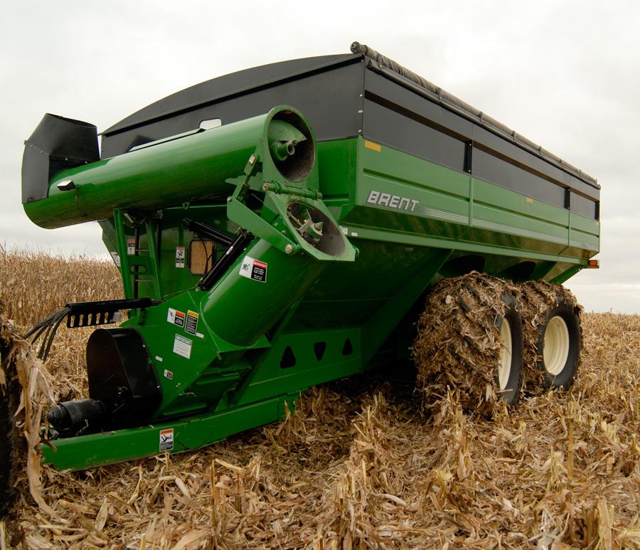 brent grain handling unverferth mfg 57q series grain wagon avalanche grain cart