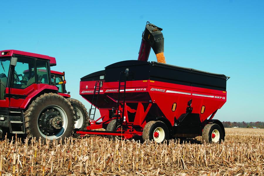 brent grain handling unverferth mfg 57q series grain wagon