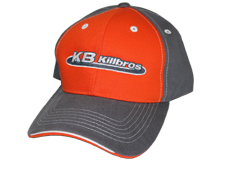 Killbros Orange and Charcoal Hat