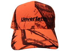Unverferth Corporate Orange Camo Hat