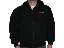 Cornerstone® Insulated Hooded Jacket