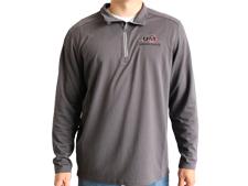 Men's UM Textured 1/4-Zip Pullover