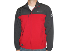 Unverferth Red/Charcoal Softshell Jacket