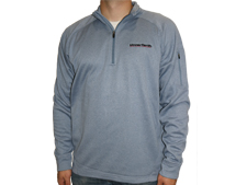 Unverferth Gray Quarter Zip Pullover