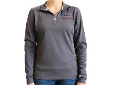 Ladies UM Brand Textured 1/4-Zip