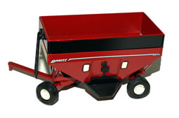 Brent 657Q 1/64th scale Red Grain Wagon