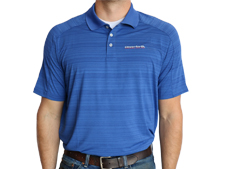 Unverferth Lands' End Active Polo - Blue