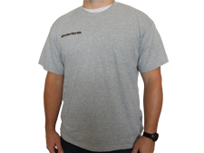 Athletic Heather Gray Cotton Pocket Tee