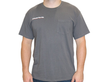 Charcoal Cotton Pocket Tee Shirt