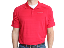 Unverferth Lands' End Active Polo - Red