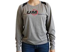 Women's UM Brand Long Sleeve Heather Tee