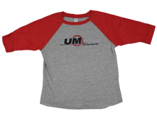 Youth UM Brand Toddler Baseball Tee
