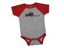 Infant UM Brand Baseball Jersey Bodysuit