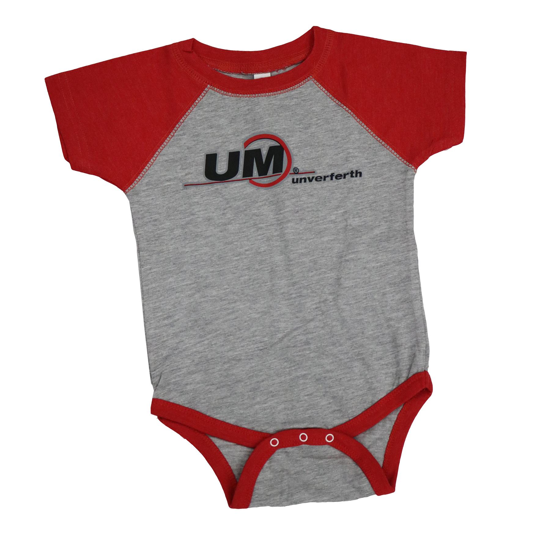 Infant Um Brand Baseball Jersey Bodysuit Shirts Unverferth Mfg