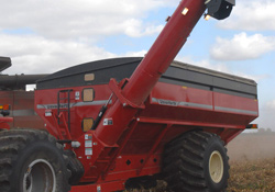 Double Auger Grain Cart